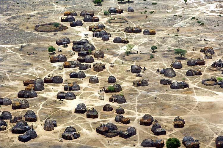 روعة الصور الجوية من افريقيا