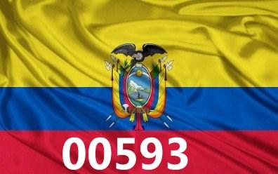 00593 مفتاح الاكوادور